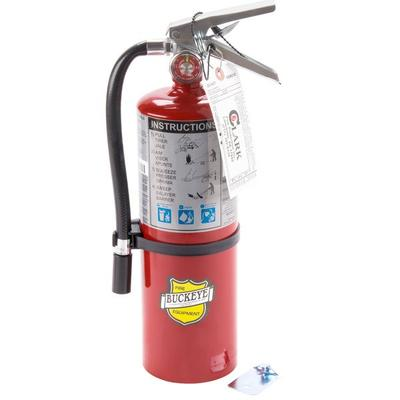 Buckeye 5 lb. ABC Fire Extinguisher - Rechargeable Tagged - UL Rating 3A-40B:C