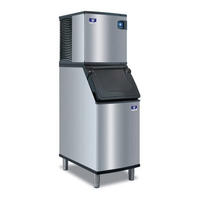 Manitowoc IYT0620A/D420 575 lb Half Cube Ice Maker w/ Bin - 383 lb Storage, Air Cooled, 115v on Sale