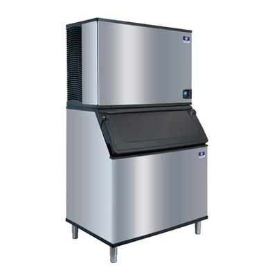Manitowoc IDT1500A/D970 1800 lb Full Cube Ice Maker w/ Bin - 882 lb Storage, Air Cooled, 208-230v/1ph on Sale