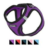 Best Pet Supplies - Best Pet Supplies Voyager Black Trim Mesh Dog Harness, Purple, Small