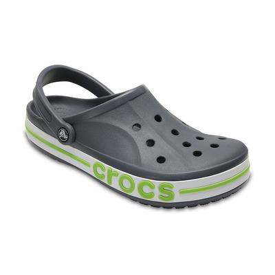 Crocs Charcoal / Volt Green Baya...