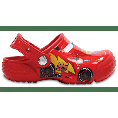 Crocs Flame Kids' Crocs Fun Lab Disney And Pixar Cars Clog Shoes
