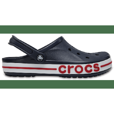 Crocs Navy / Pepper Bayaband Clog Shoes on Sale