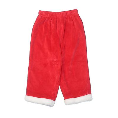 Little Legends Costume: Red Solid Accessories - Size 24 Month