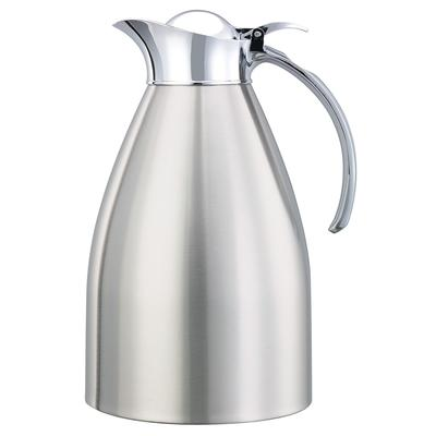 Service Ideas 982C15BS 1.5 liter Carafe w/ Vacuum Insulation, Brushed Stainless Finish on Sale