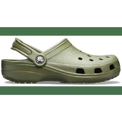 Crocs Army Green Classic Clog Shoes