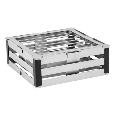 Walco CRT4B 10.5 Crate Tower Chafer Grill w/ Burner Stand, Stainless Steel on Sale