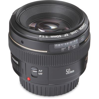 f/1.4 USM 35mm equivalent focal length: 80mm,large maximum aperture (f/1.4) for better low-light photography,compatible with Canon digital and autofocus film SLR cameras