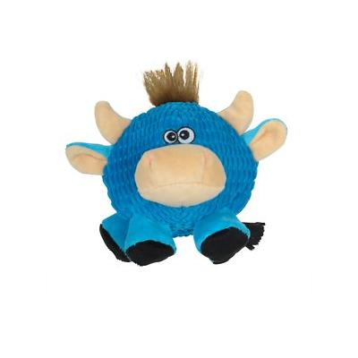 Smart Pet Love Tender Tuff Ball Dog Toy, Round Blue Cow; Give your playful pup the plump plush he deserves when you give him a Tender Tuff Ball dog toy from Smart Pet Love. Available in three different animals, this plush brings the wild outdoors into...