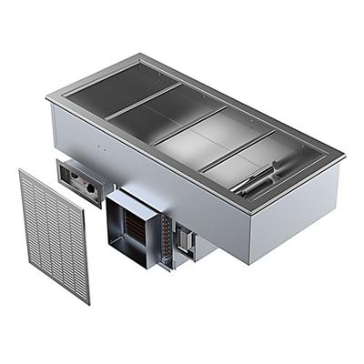 Delfield N8656P Drop-In Hot/Cold Food Well w/ (4) Full Size Pan Capacity, 120-240v/1ph on Sale