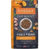 Instinct Raw Boost Gut Health Grain-Free Recipe with Real Chicken & Freeze-Dried Raw Pieces Adult Dry Dog Food, 4-lb bag