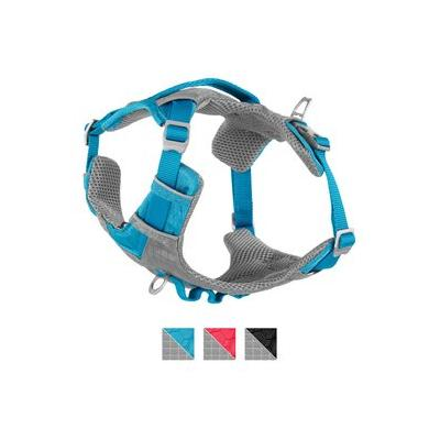 Kurgo Journey Air Dog Harness, Coastal Blue/Charcoal, Small